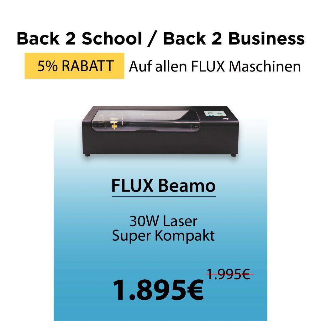 Beamo – Tragbarer Laserschneider (30W)