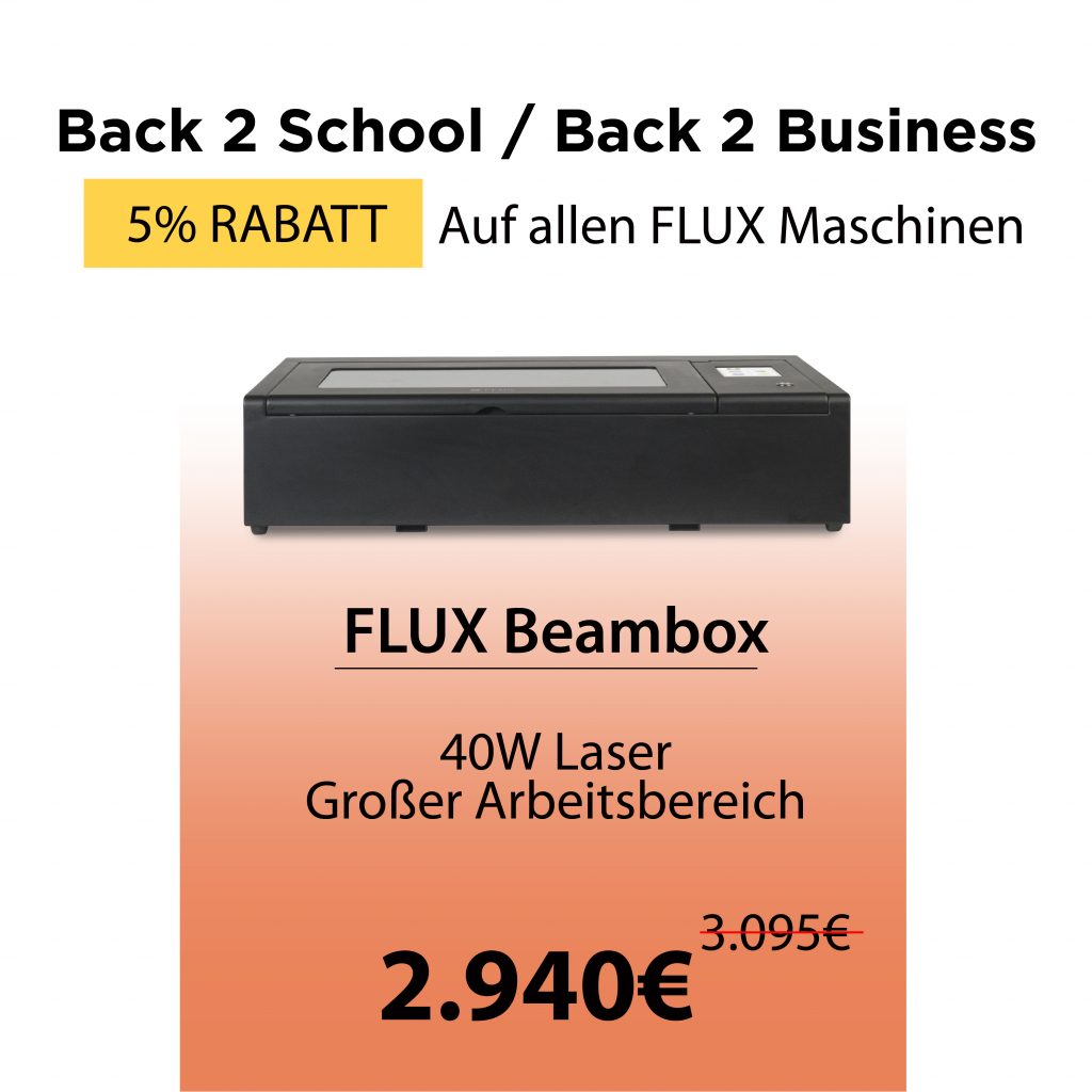 Beambox – Desktop-Laserschneider (40W)